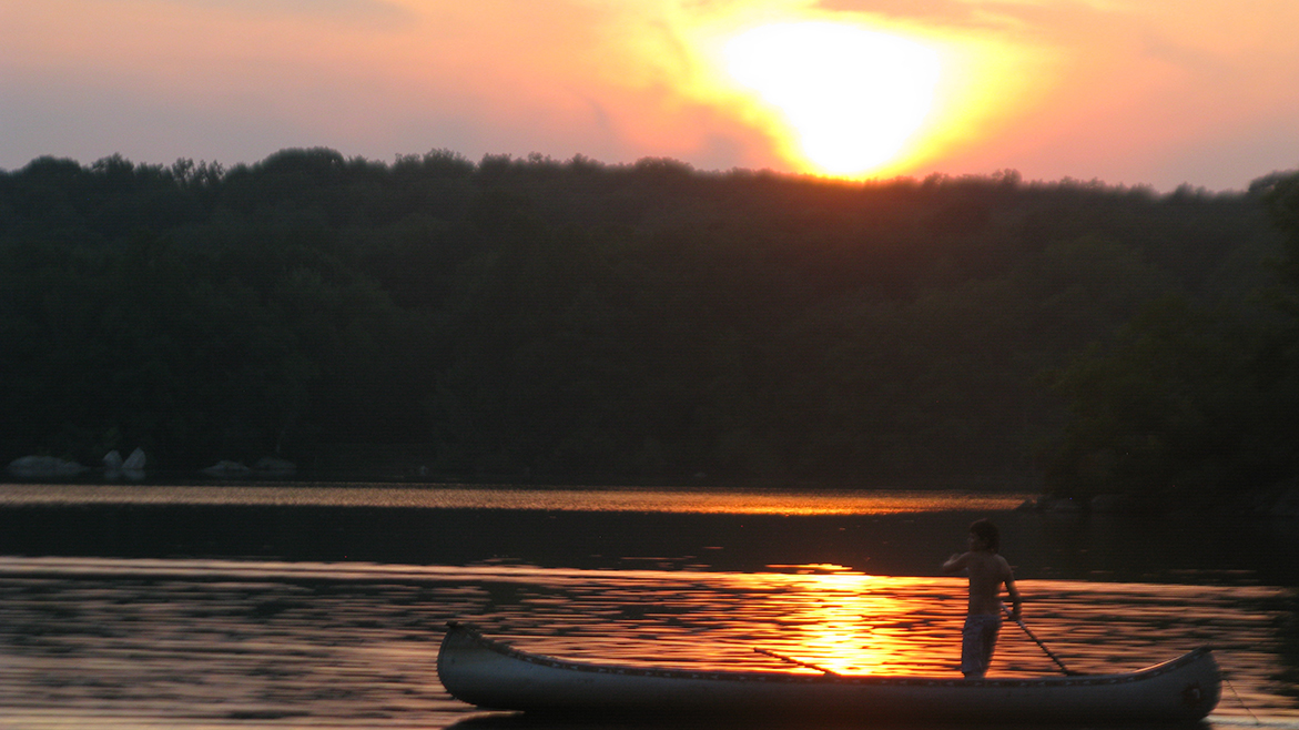Summer sunset canoe 2 (2)